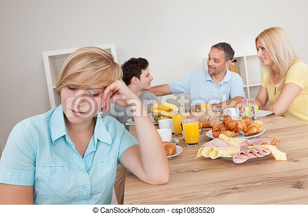 Excluded from the family circle - csp10835520