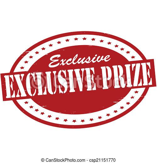 Exclusive prize - csp21151770