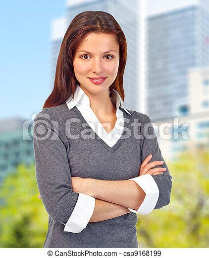 Executive business woman. - csp9168199
