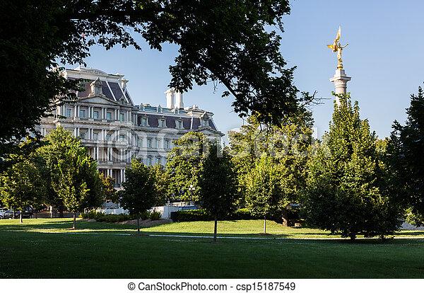 Executive Office Building Washington DC - csp15187549