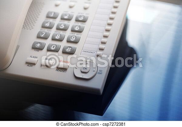 Executive VoIP desk phone - csp7272381