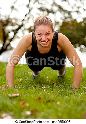 Exercise Park - csp2659095