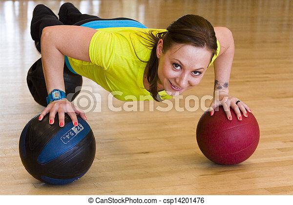 Exercising - csp14201476
