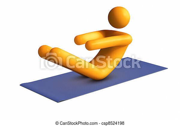 Exercising - csp8524198