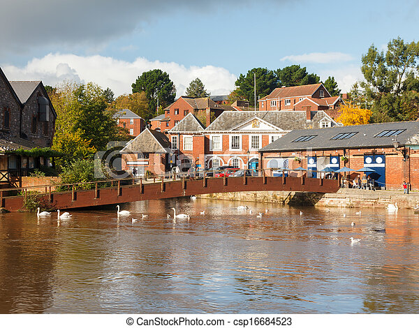 Exeter Devon England UK - csp16684523