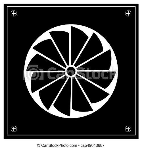 Exhaust Fan Icon Exhaust Fan Icon Image
