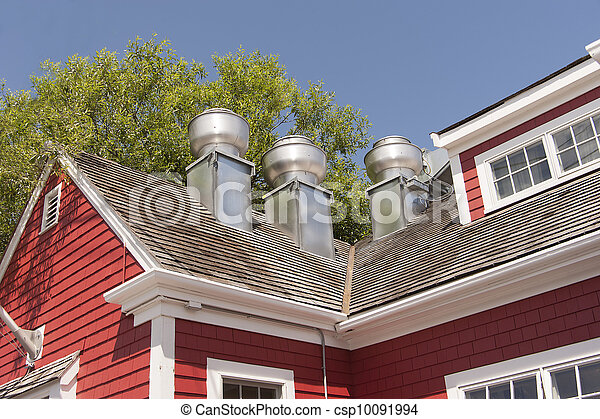 Exhaust system for a restaurant  - csp10091994