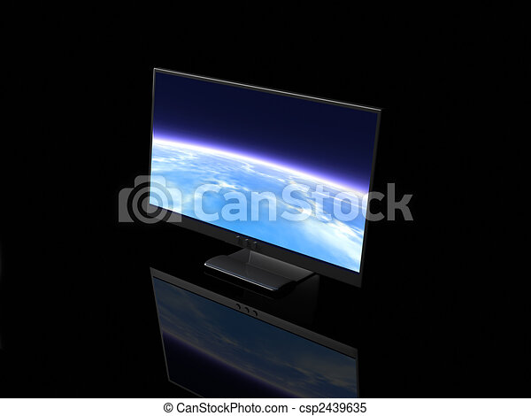 Muestra LCD - csp2439635