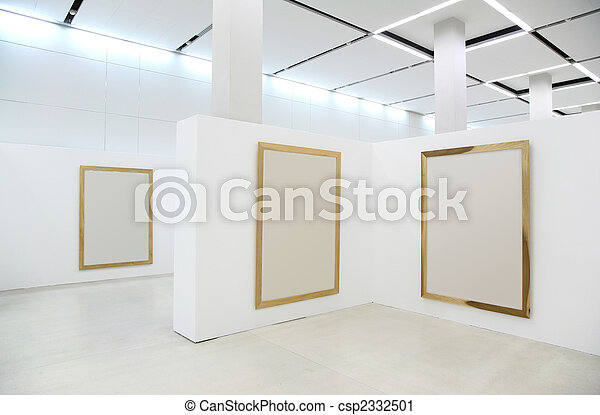 exhibition frames - csp2332501