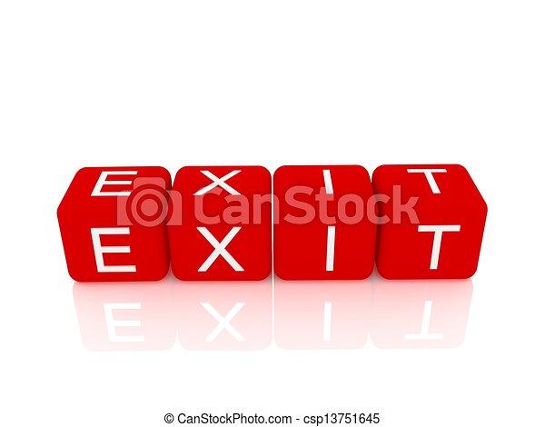 Exit - csp13751645