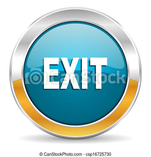 exit icon - csp16725730