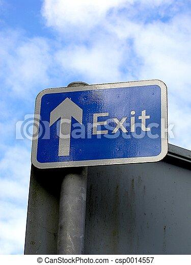Exit Sign - csp0014557