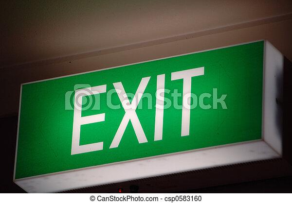 Exit - csp0583160