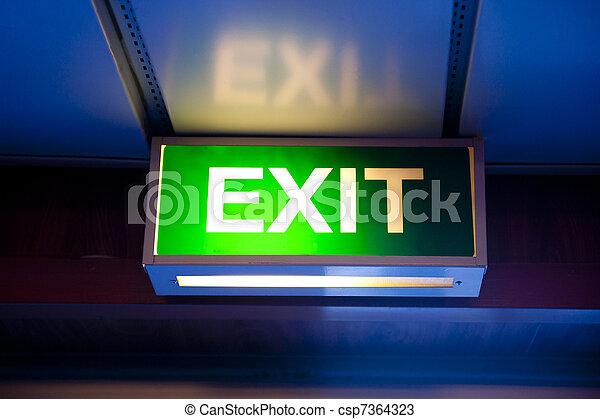 Exit - csp7364323
