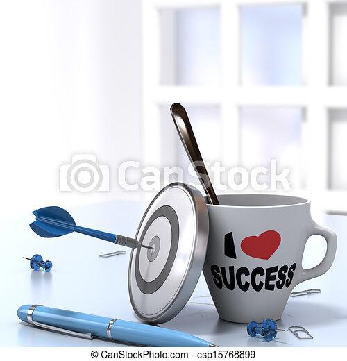 Concepto ejecutivo exitoso - csp15768899