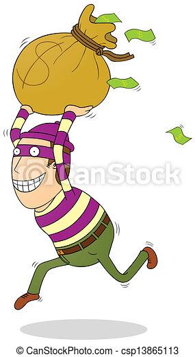 Ladrón exitoso - csp13865113