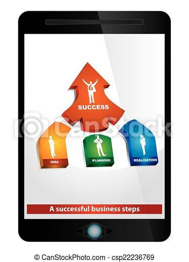 Un negocio exitoso - csp22236769