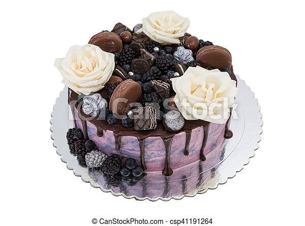 Fabulous Exotic Birthday Cake Of White Roses Execution Sweets Personalised Birthday Cards Akebfashionlily Jamesorg