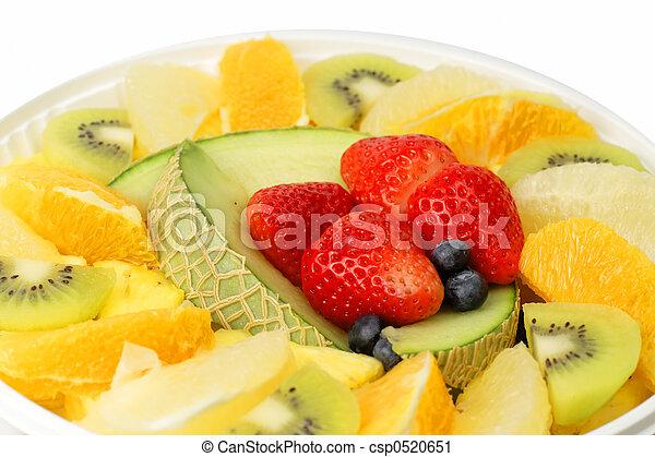 Exotic fruits temptation - csp0520651