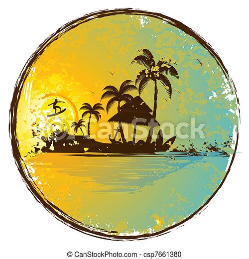 Exotic Island - csp7661380