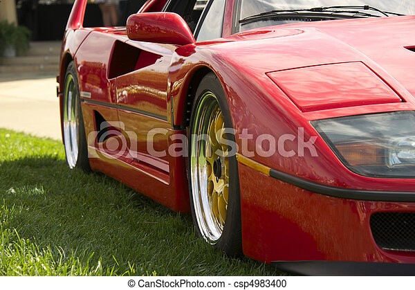 Exotic Italian Sports Car 1 - csp4983400