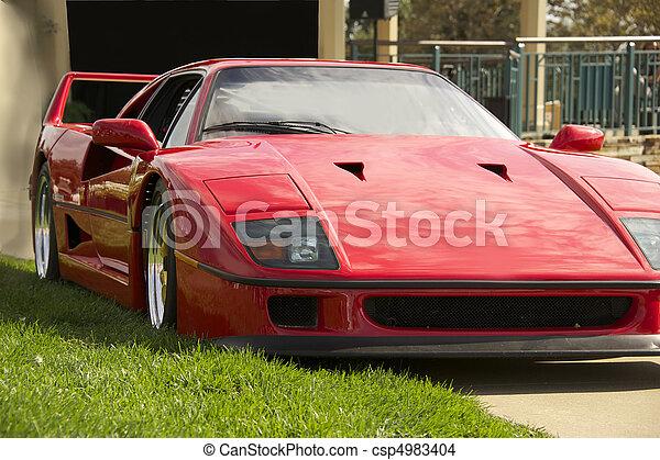 Exotic Italian Sports Car 2 - csp4983404