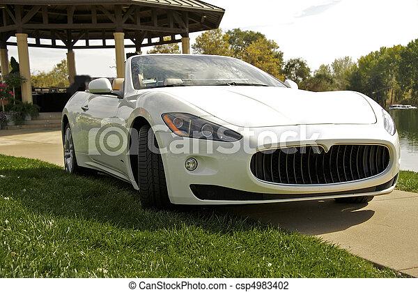 Exotic Italian Sports Car 3 - csp4983402