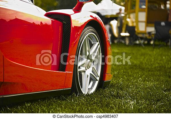 Exotic Italian Sports Car 5 - csp4983407