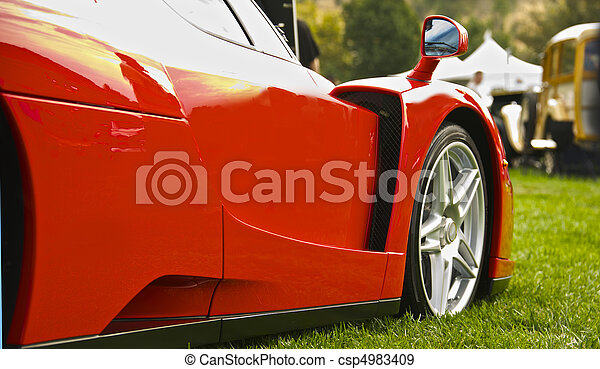 Exotic Italian Sports Car 7 - csp4983409