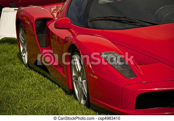 Exotic Italian Sports Car 8 - csp4983410