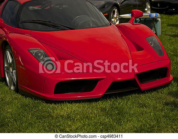 Exotic Italian Sports Car 9 - csp4983411
