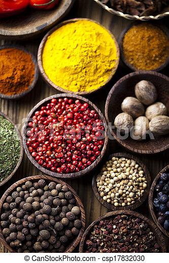 Exotic Spices - csp17832030