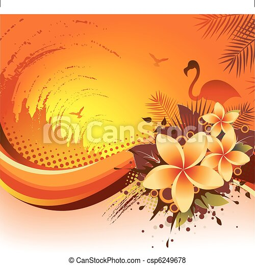 Exotic Tropical Background  - csp6249678