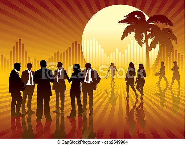 exotique, business - csp2549904