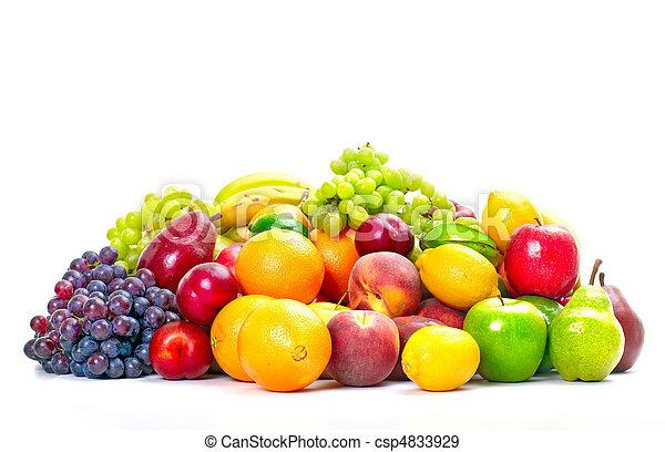 exotique, frais, fruits. - csp4833929
