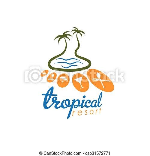 exotique, recours, vecteur, conception, gabarit - csp31572771