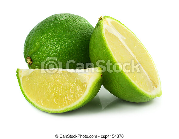 exotisk frukt, grön, lime - csp4154378