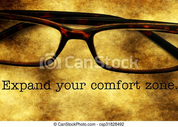 Expand your comfort zone - csp31828492