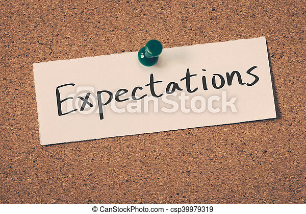 expectations - csp39979319