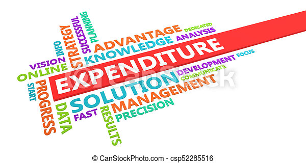 Expenditure Word Cloud - csp52285516