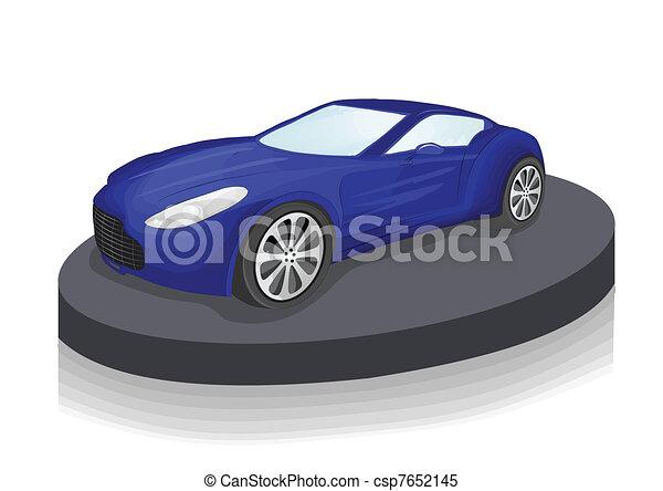expensive car - csp7652145