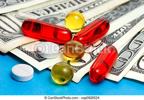 Expensive medicine - csp0926524