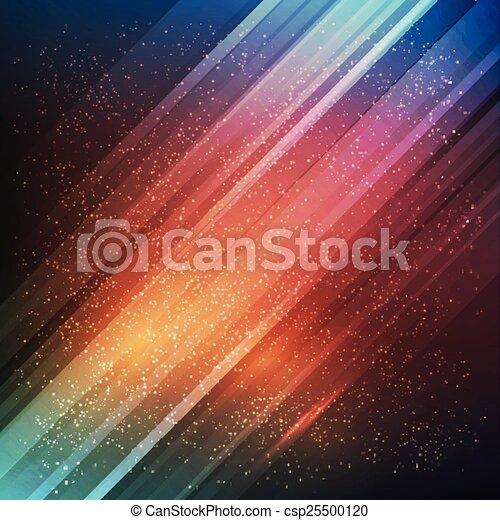 experiência., abstratos, vetorial, futuro - csp25500120
