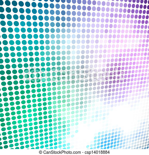 experiência., círculo, vetorial, coloridos, mosaico - csp14018884