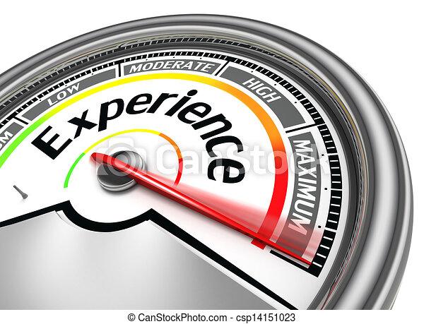 experience conceptual meter - csp14151023