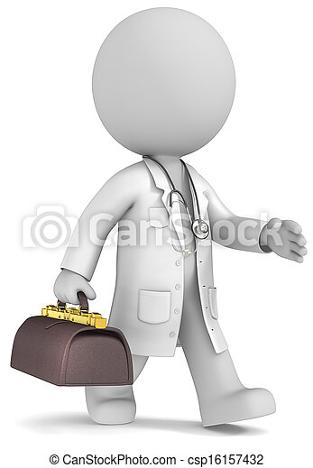 Experienced doctor. - csp16157432