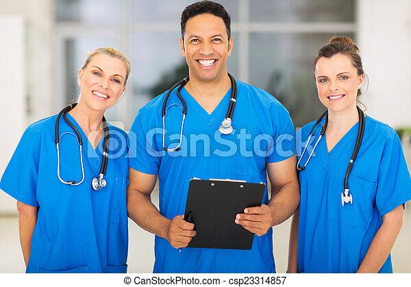 experts, monde médical, groupe - csp23314857