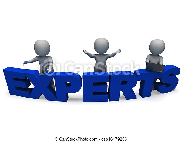 Experts Word Shows Expertise And Consultants - csp16179256