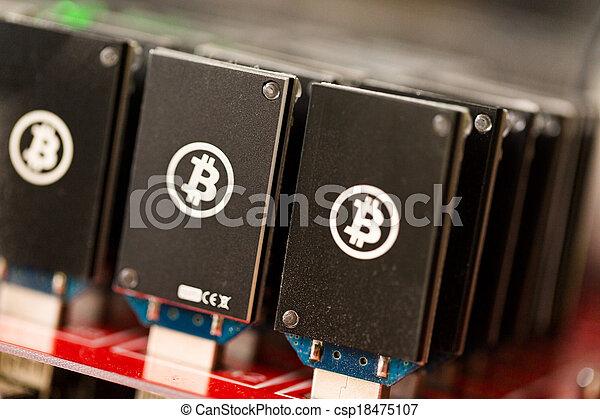 exploitation minière, bitcoin - csp18475107