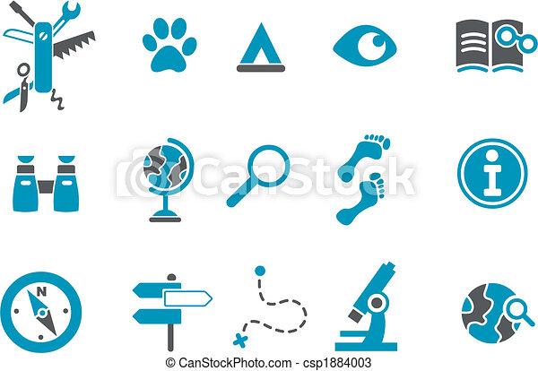 icono de exploración - csp1884003